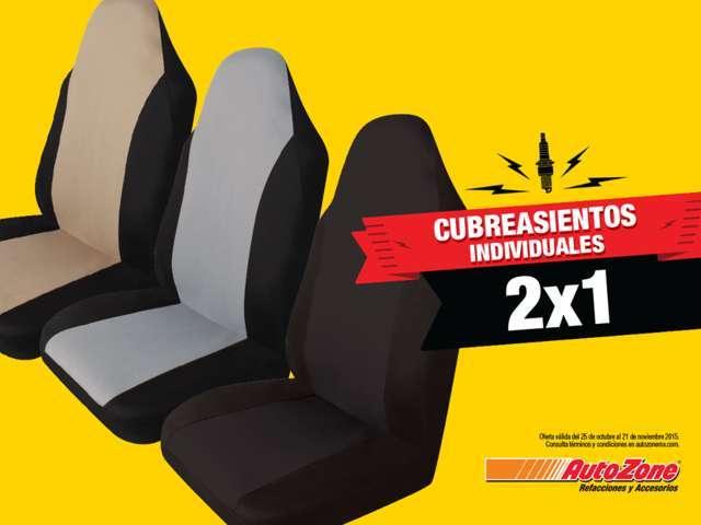 AutoZone: Cubreasientos individuales al 2×1, 4×3 en amortiguadores y struts y más