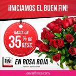 envia flores promocion del buen fin 2015 OFFDE