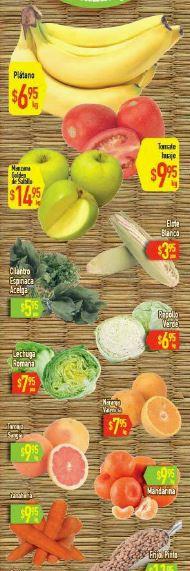 HEB: 3 Días de Frutas y Verduras del 17 al 19 de Noviembre
