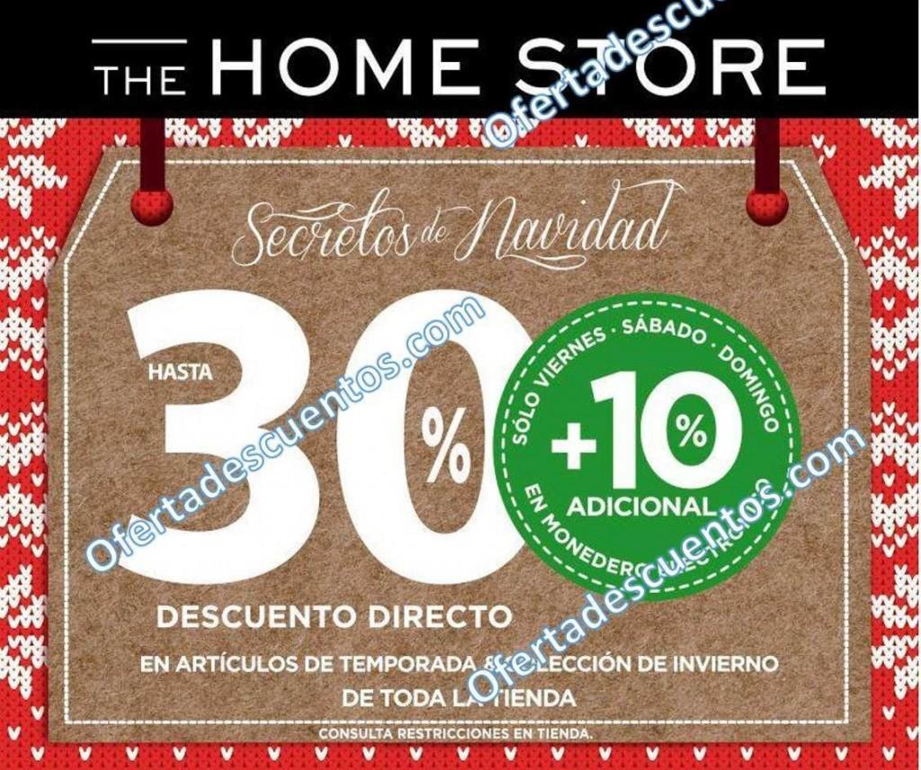 Home Store: Secretos de Navidad Hasta 30% de Descuento