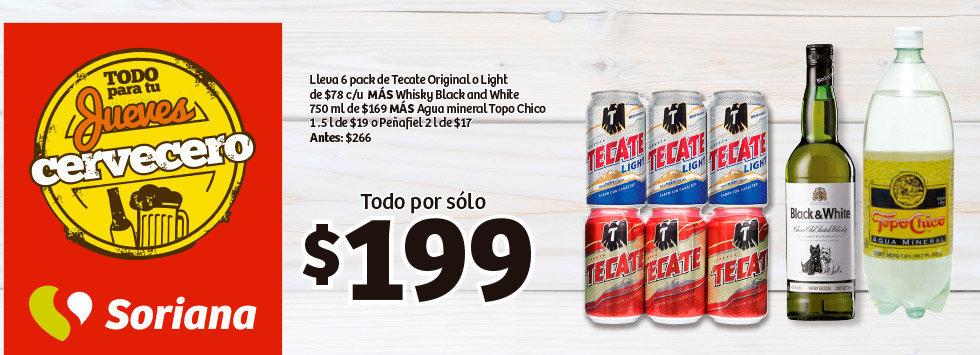 Soriana : Jueves Cervecero 12 de Noviembre