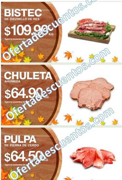 La Comer: Martes y Miércoles de Carnes 24 y 25 de Noviembre