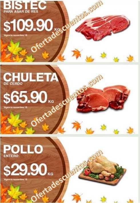 La Comer: Martes y Miércoles de Carnes 17 y 18 de Noviembre
