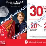 venta nocturna fabricas de francia 4 y 5 diciembre 2015