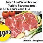 Carne de Res para asar soriana 18 diciembre OFFDE