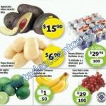 Frutas y verduras Soriana 15 diciembre