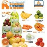Frutas y verduras chedraui 15 diciembre OFFDE