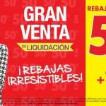 Gran Venta de Liquidación Suburbia 2015 OFFDE
