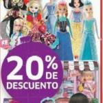 Soriana 20 descuento en muñecas