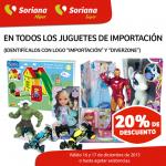 Soriana hiper juguetes de importación