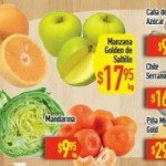Tres días de frutas y verduras HEB 22 24 diciembre