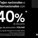 Volaris 50 de descuento viajes nacionales e internacionales OFFDE