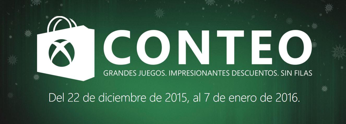 Xbox Live: Conteo Hasta 60% de Descuento Diarios y Semanales
