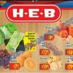 heb 3 dias de frutas y verduras al 31 de diciembre