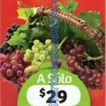oferta de frutas y verduras en Soriana 29 y 30 diciembre