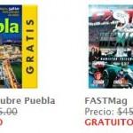 revistas digitales gratis en diciembre en Sanborns