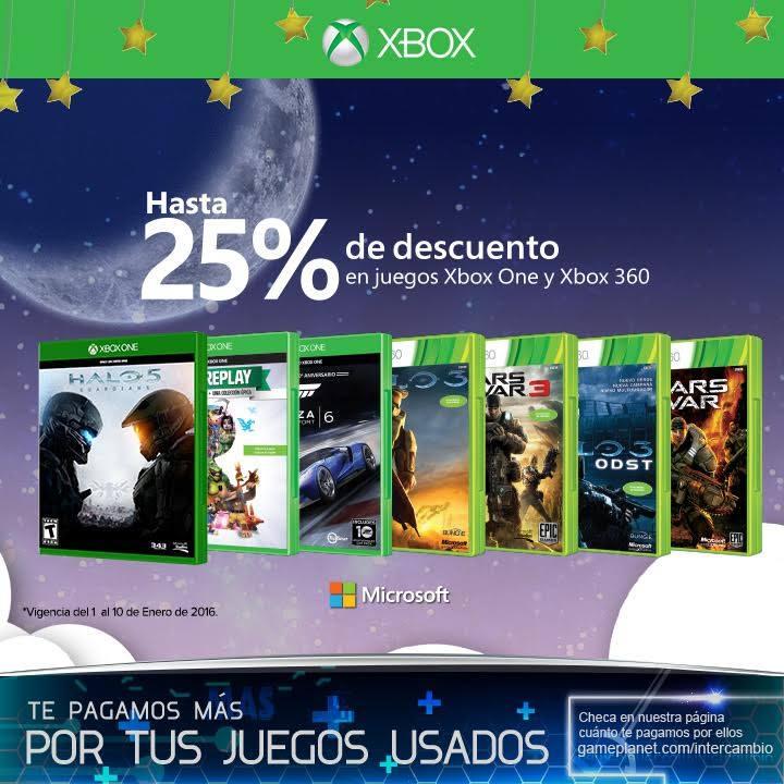 Game Planet: Hasta 25% de Descuento en Juegos de Xbox One