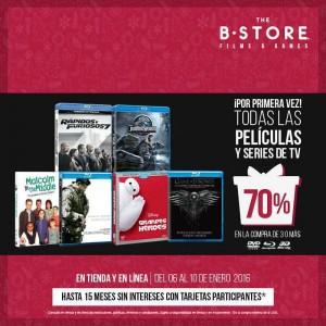 The B-Store: 70% de Descuento en Todas las Películas y Series