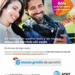 AT&T 6 meses de servicio gratis