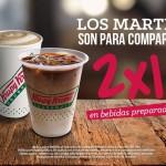 Krispy Kreme 2x1 en bebidas preparadas OFFDE