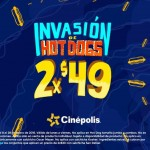 invasion de Hod Dogs Cinepolis OFFDE