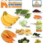 martes y miercoles de frutas y verduras 13 y 14 de enero