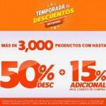 netshoes liquidaciones 50 mas 15 OFFDE