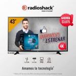radioshack pantalla 4k OFFDE
