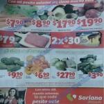 soriana mercado frutas y verduras 12 y 13 de enero OFFDE