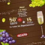 venta especial Sears año nuevo OFFDE