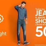 CA 50 en segunda compra short y jeans