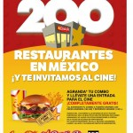 Carls jr boletos para el cine gratis
