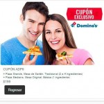 Dominos pizza cupon pizza sarten