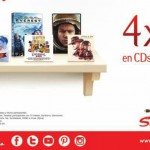Sanborns 4x2 en dvd y cd