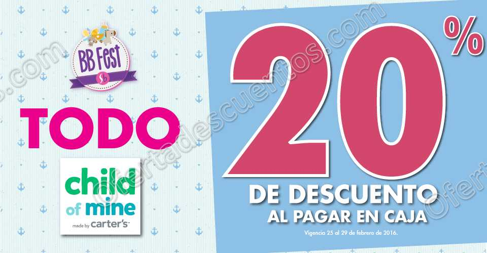 70e4aa5e31 Suburbia BBFest  20% de Descuento en Child of Mine · Ofertas Suburbia