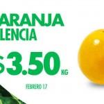 ofertas en frutas y verduras de hoy es miercoles en comercial mexicana 17 de feb
