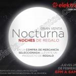 venta nocturna Elektra online