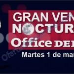 venta nocturna office depot 1 de marzo OFFDE