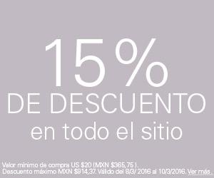 eBay: Cupón 15% de Descuento Día Internacional de la Mujer