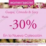 30 de descuento en nueva coleccion de women secret