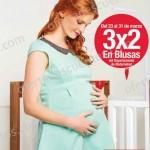 3x2 en ropa de maternidad OFFDE