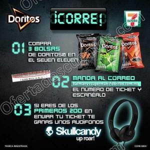 7 Eleven: Compra 3 bolsas de Doritos registra y gana audífonos Skullcandy