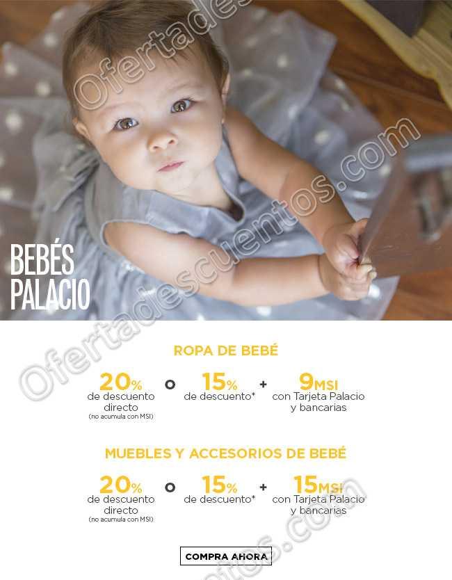 Palacio de Hierro: 20% de descuento y hasta 15 meses sin intereses en Bebés