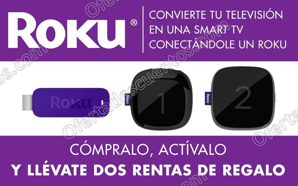 Cinépolis Klic: Gratis 2 rentas en la compra y activación de tu Dispositivo Roku