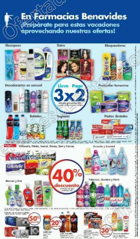 Farmacias Benavides: Promociones del 14 al 17 de Marzo
