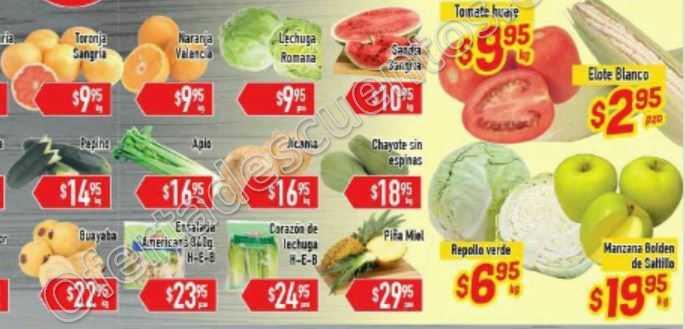 HEB: Tres Días de Frutas y Verduras del 8 al 10 de Marzo
