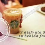Starbucks 50 descuento con ticket OFFDE