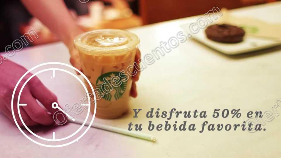 Starbucks: 50% de Descuento en Bebidas al Presentar Ticket de la Mañana