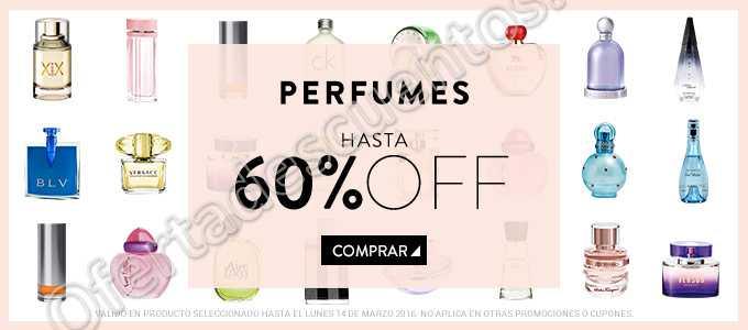 Dafiti: Hasta 60% de descuento en Perfumes y hasta 40% de descuento en bolsas