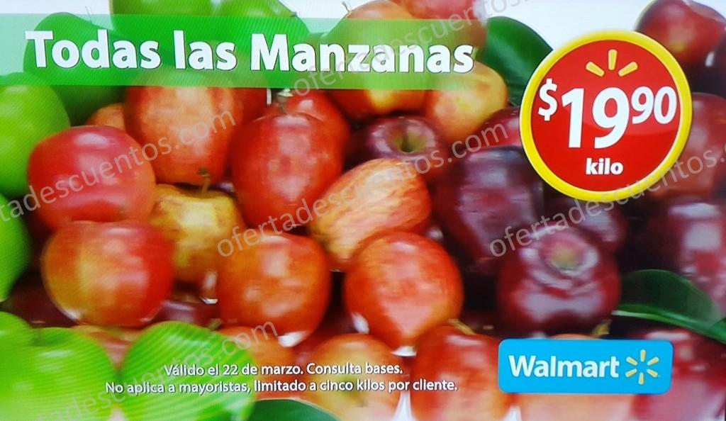 Walmart: Martes de Frescura Walmart 22 de Marzo